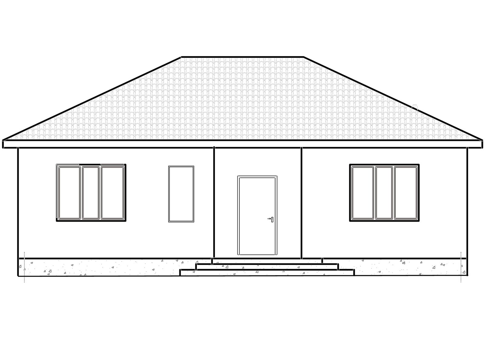 Коттеджный поселок «Домино» | КП «Домино» | Площадь 96.6 кв.м на 4.17 сот.